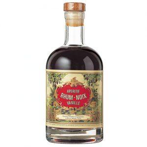 Liqueur rhum-noix-vanille sélectionnée par Le Verger de Barnabé